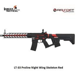 Lancer Tactical LT-33 Proline Night Wing Skeleton Red