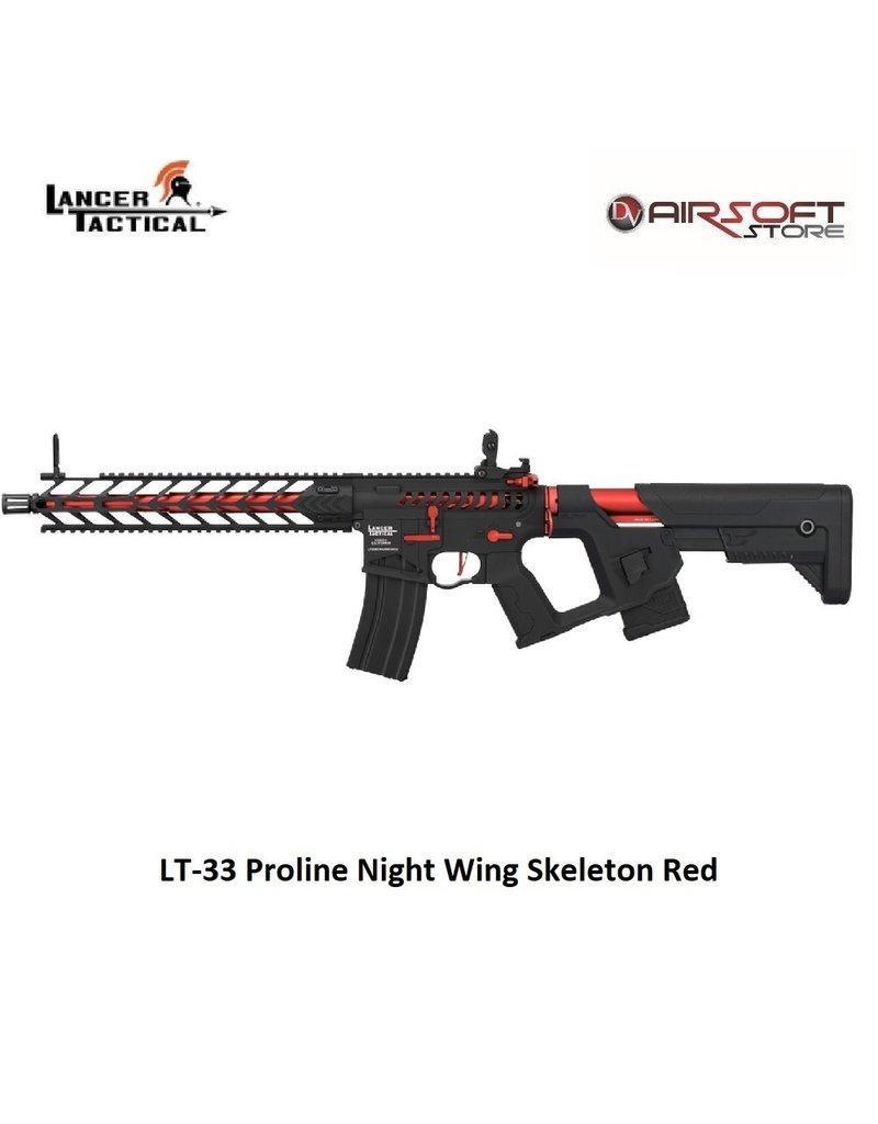 Lancer Tactical LT-33 Proline Night Wing Skeleton Red