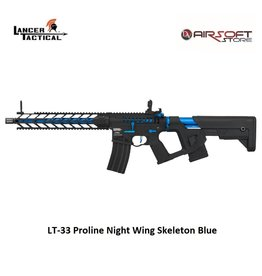 Lancer Tactical LT-33 Proline Night Wing Skeleton Blue