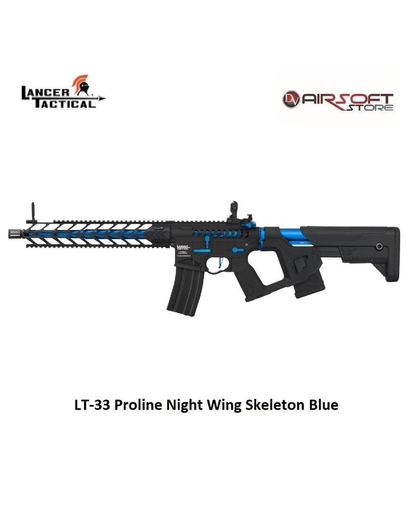 Lancer Tactical LT-33 Proline Night Wing Skeleton Blue