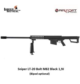 Lancer Tactical Sniper LT-20 Bolt M82 Black 1,9J