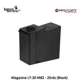 Lancer Tactical Magazine LT-20 M82 - 25rds (Black)