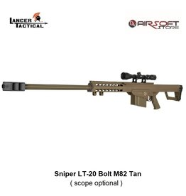 Lancer Tactical Sniper LT-20 Bolt M82 Tan 1,9J