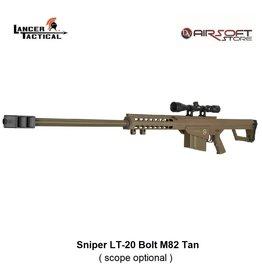 Lancer Tactical Sniper LT-20 Bolt M82 Tan 1,9J