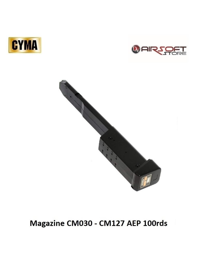 CYMA Magazine CM030 - CM127 AEP 100rds