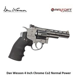 Dan Wesson Revolver 4 Inch Chrome Co2