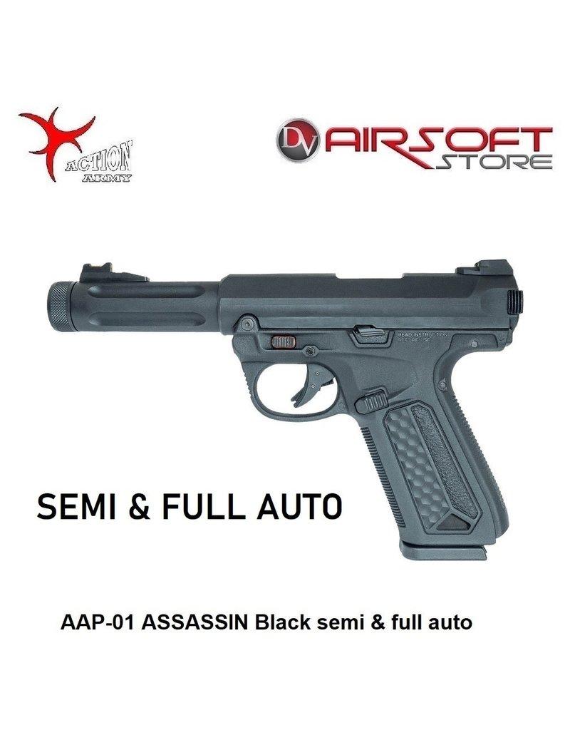 Action Army AAP-01 ASSASSIN Black semi & full auto