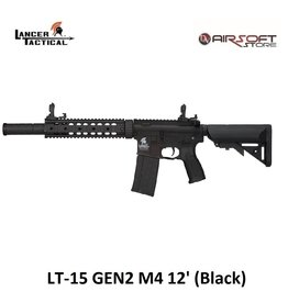 Lancer Tactical LT-15 GEN2 M4 12' (Black)