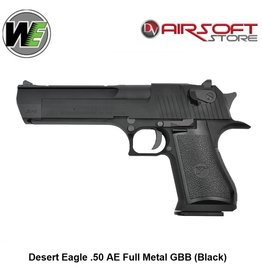 WE Desert Eagle .50 AE Full Metal GBB (Black)