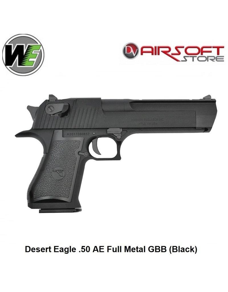 WE Desert Eagle .50 AE Full Metal GBB (Black)