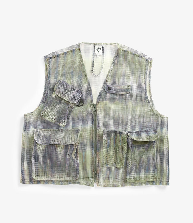 South2 West8 Mesh Bush Vest - see all colours