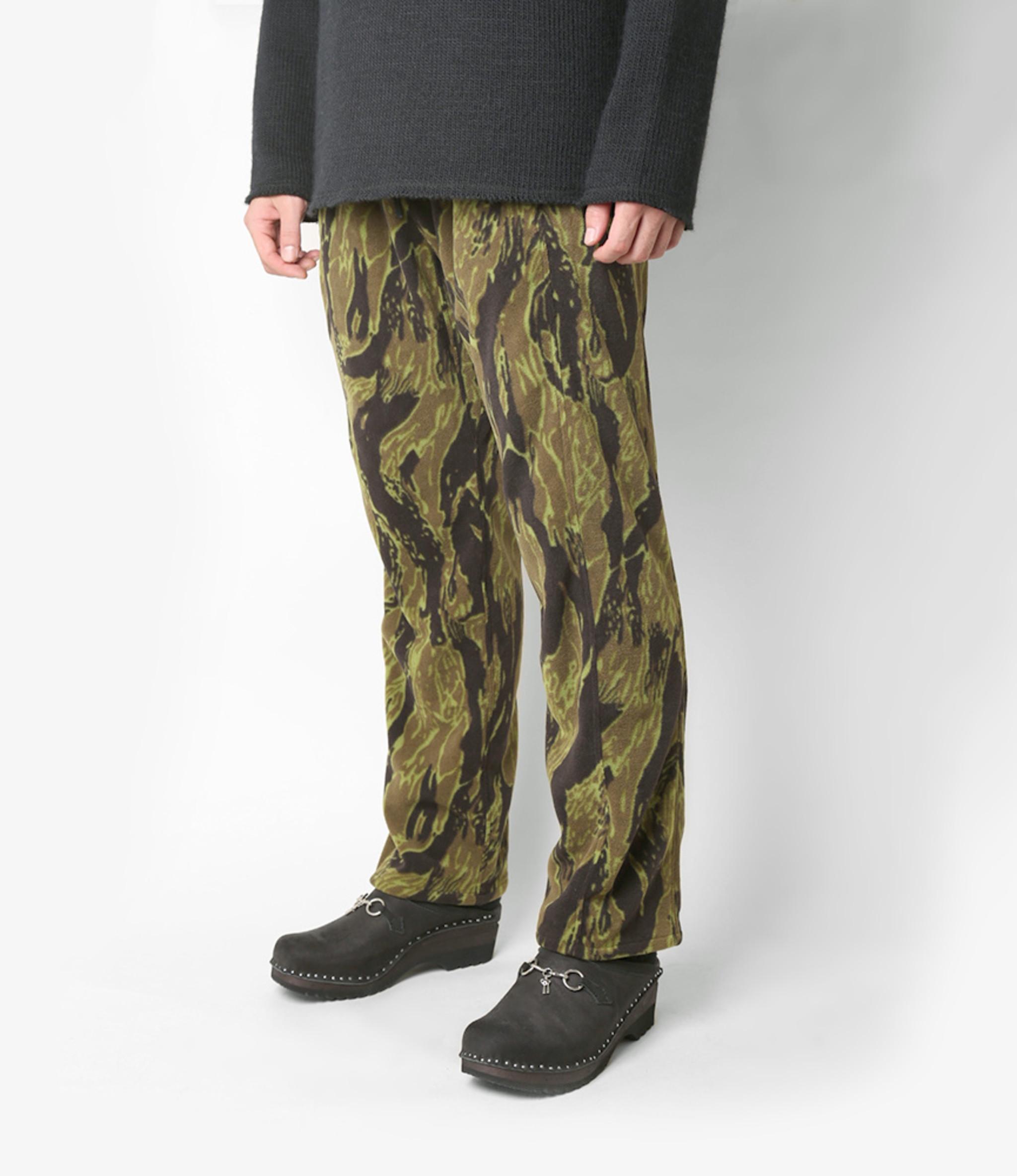 Needles Seam Pocket Pant - Poly Fleece / Tiger Camo Stripe