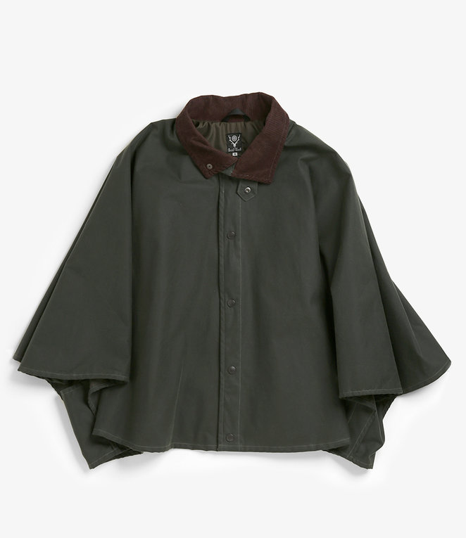 South2 West8 Waxed Cotton Lined Cape - see all colours