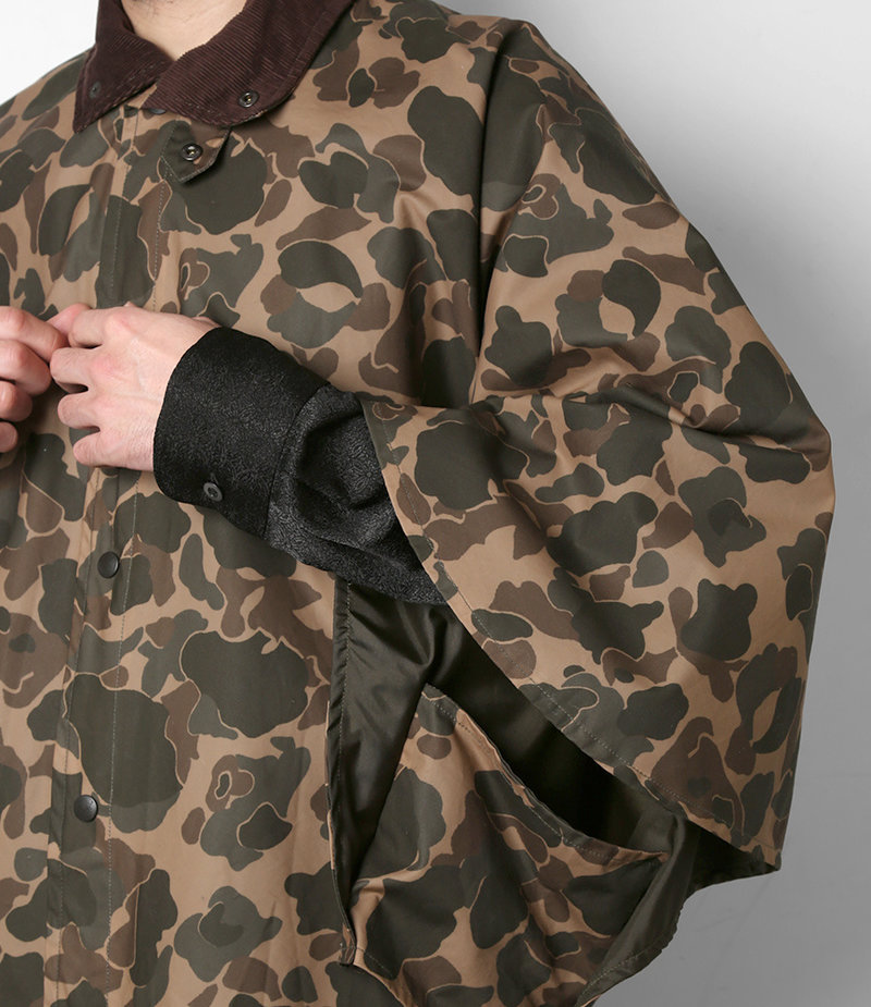 South2 West8 Waxed Cotton Lined Cape