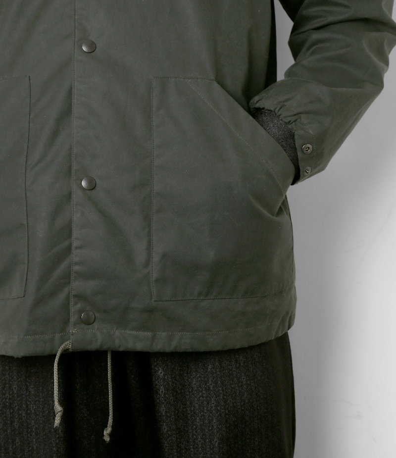 South2 West8 S2 - Waxed Cotton Coach Jacket