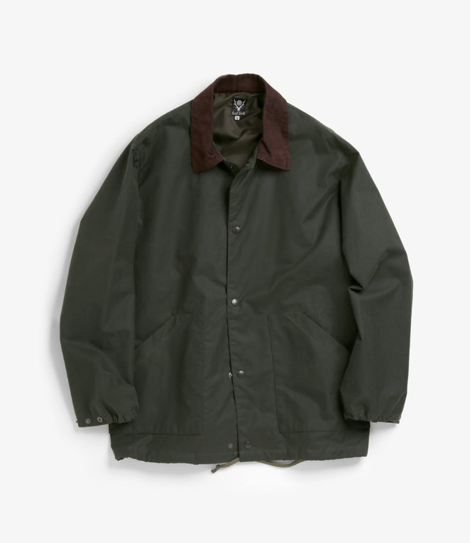 South2 West8 Waxed Cotton Coach Jacket - see all colours