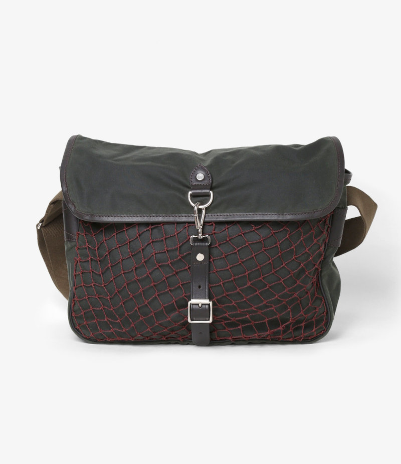 South2 West8 Waxed Cotton Bag - Game
