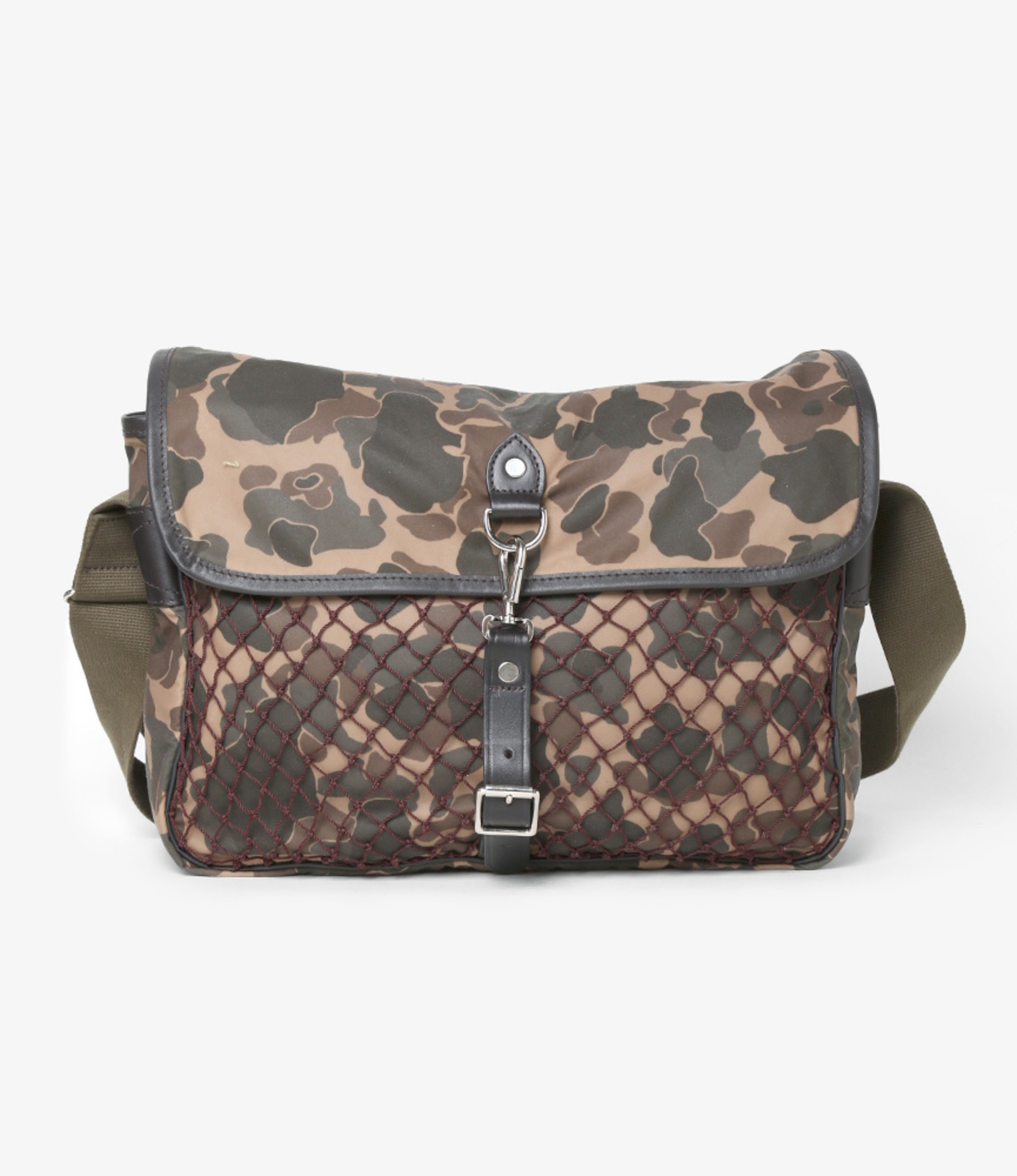South2 West8 Wax Cotton Bag - Game