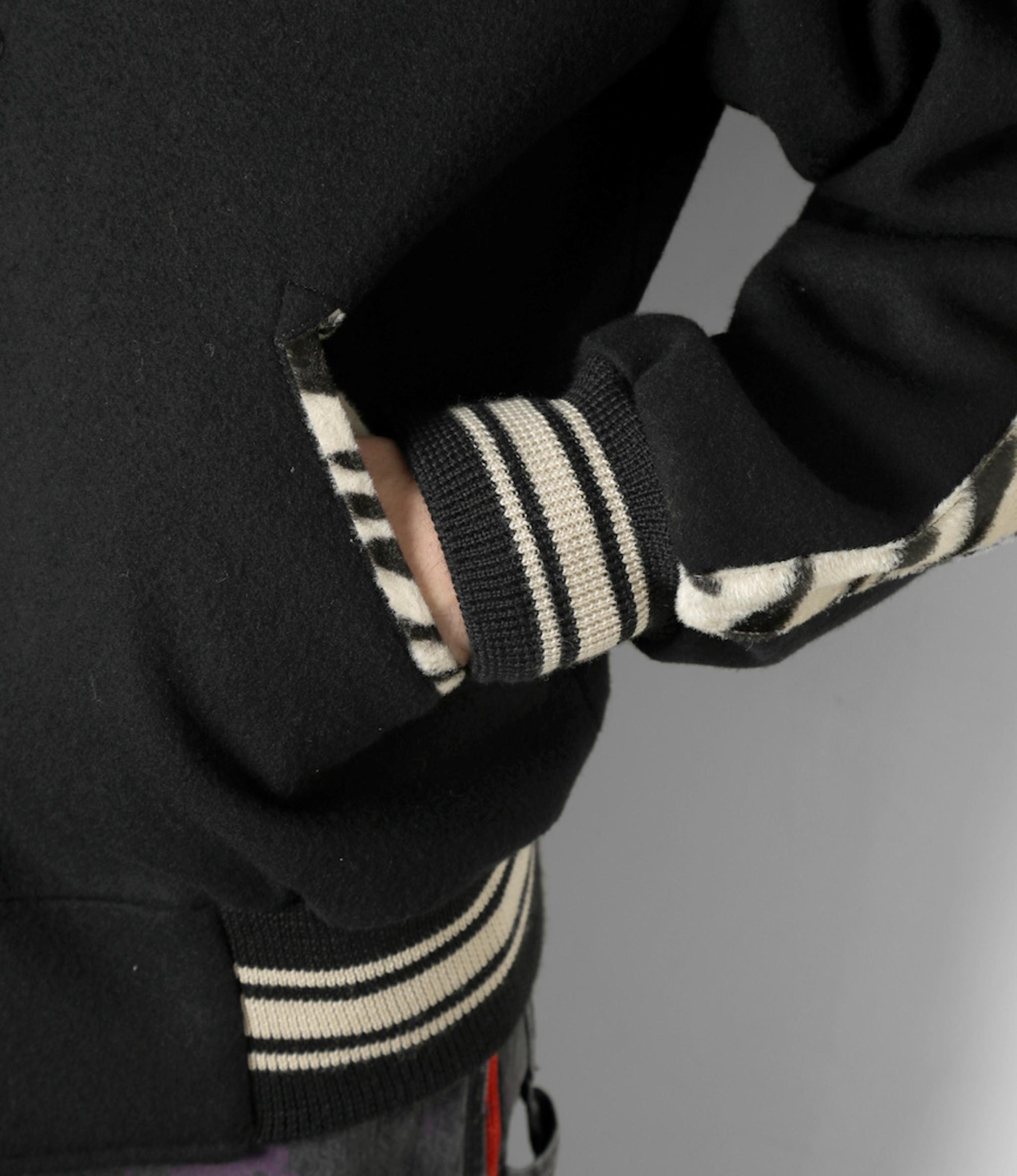 Needles Award Jacket - W/N Beaver - Black
