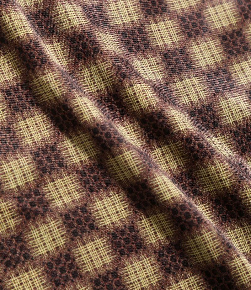 Needles Cut-Off Bottom Classic Shirt - R/C Sateen / Print - Well