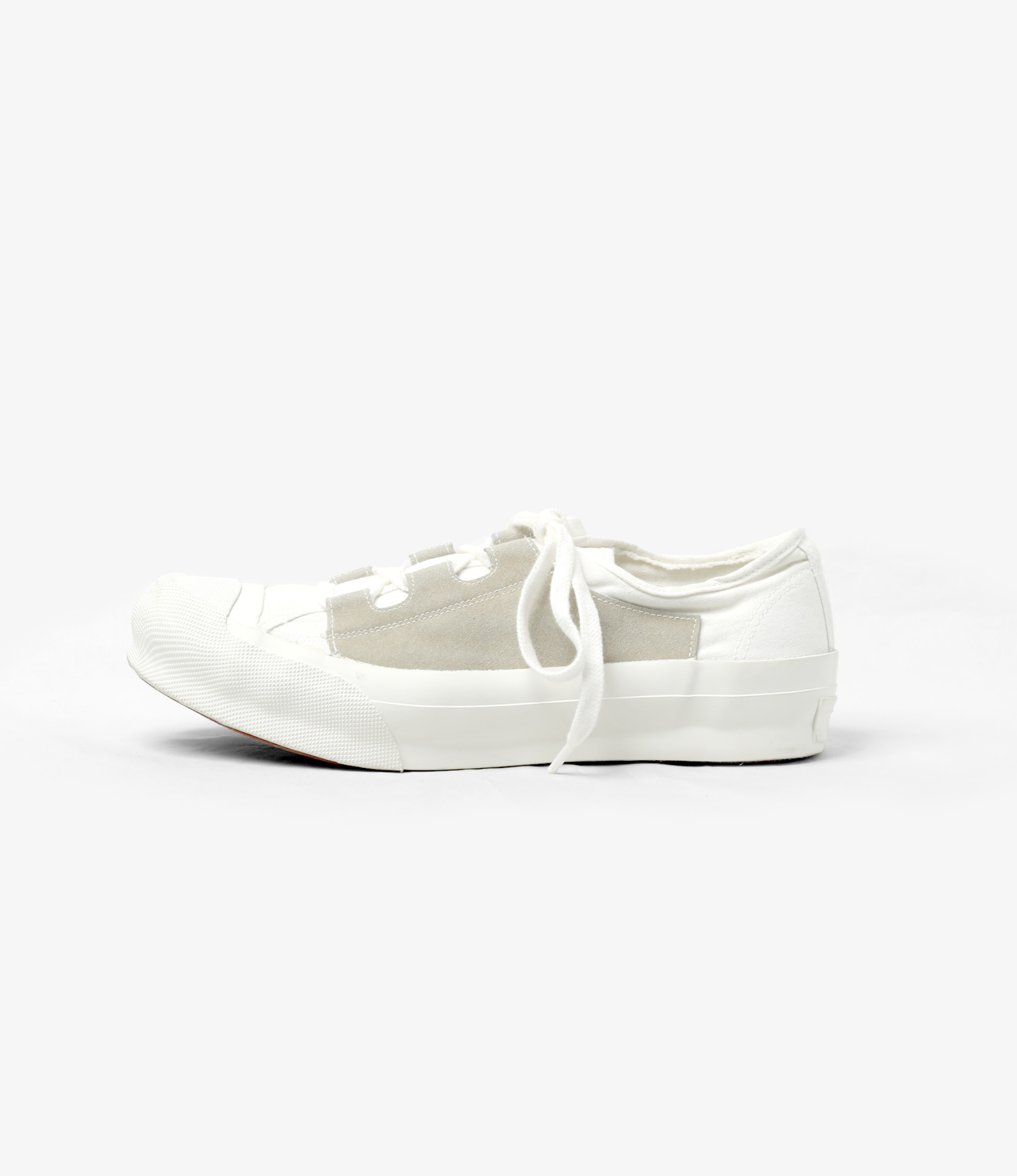 Needles Asymmetric Ghillie Sneaker - White