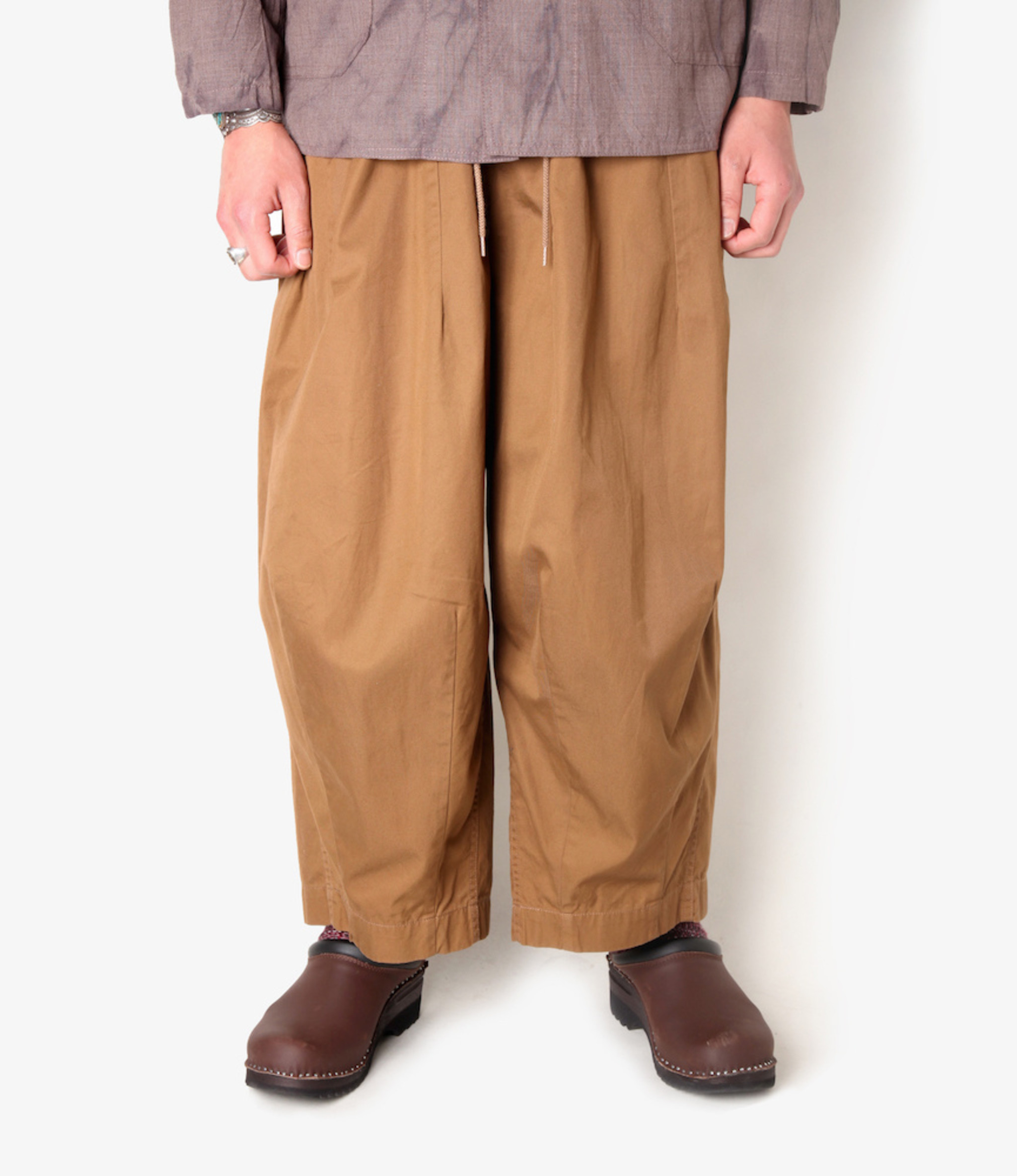 Needles H.D. Pant - Military - Brown