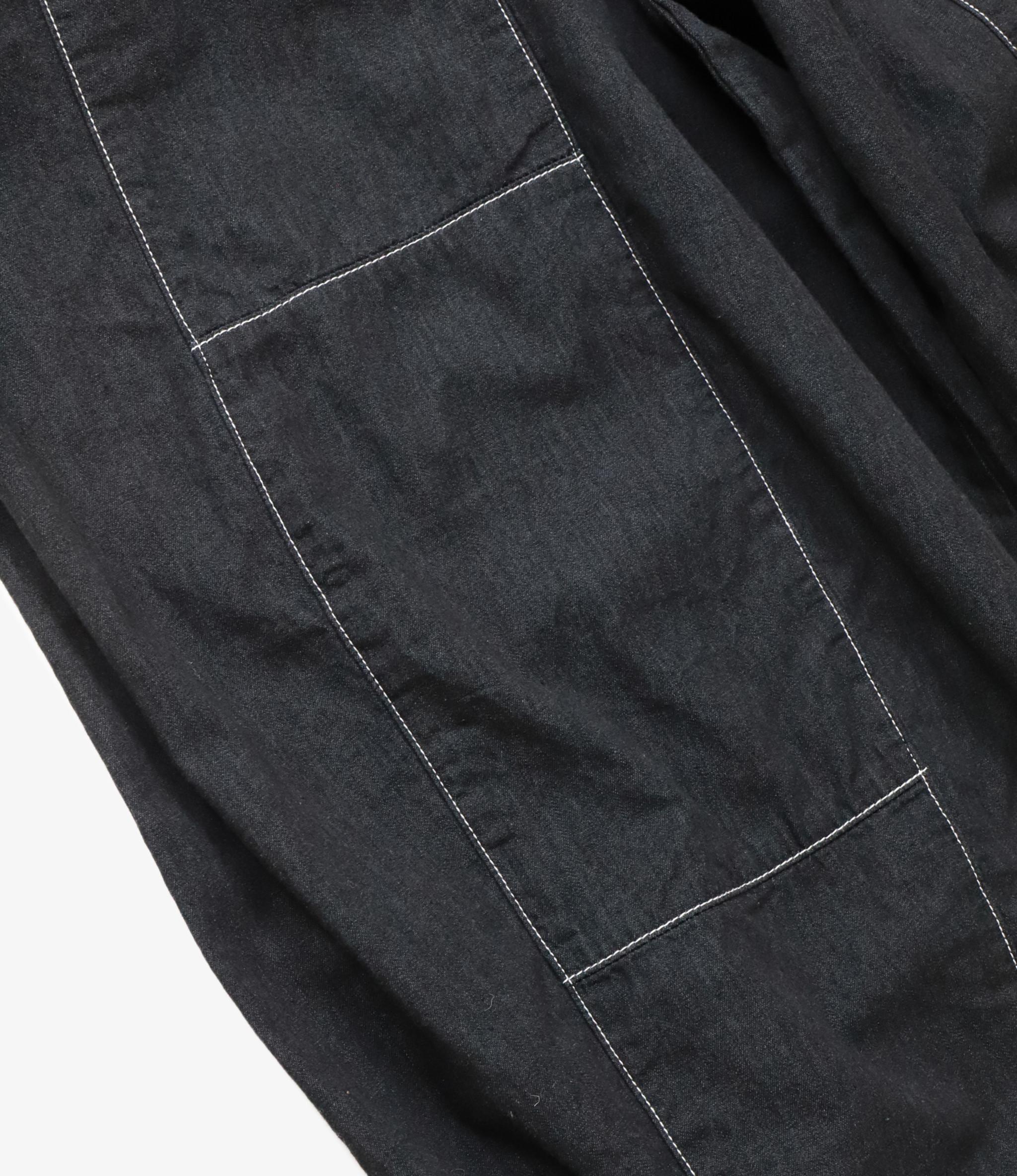 Needles H.D. Pant - 6oz Denim - Black