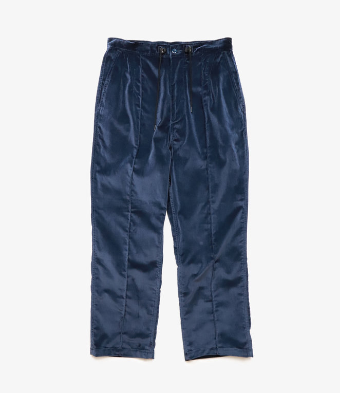 Needles String Military Pant - Cotton Velveteen - Navy