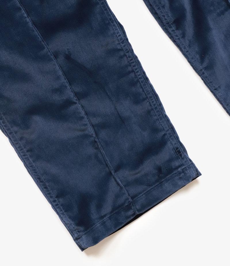 Needles String Military Pant - Cotton Velveteen - Navy