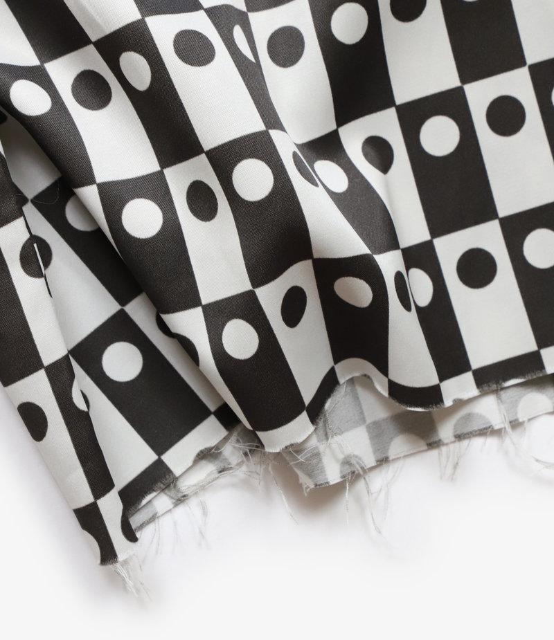 Needles Cut-Off Bottom Classic Shirt - R/C Sateen / Print - Othello