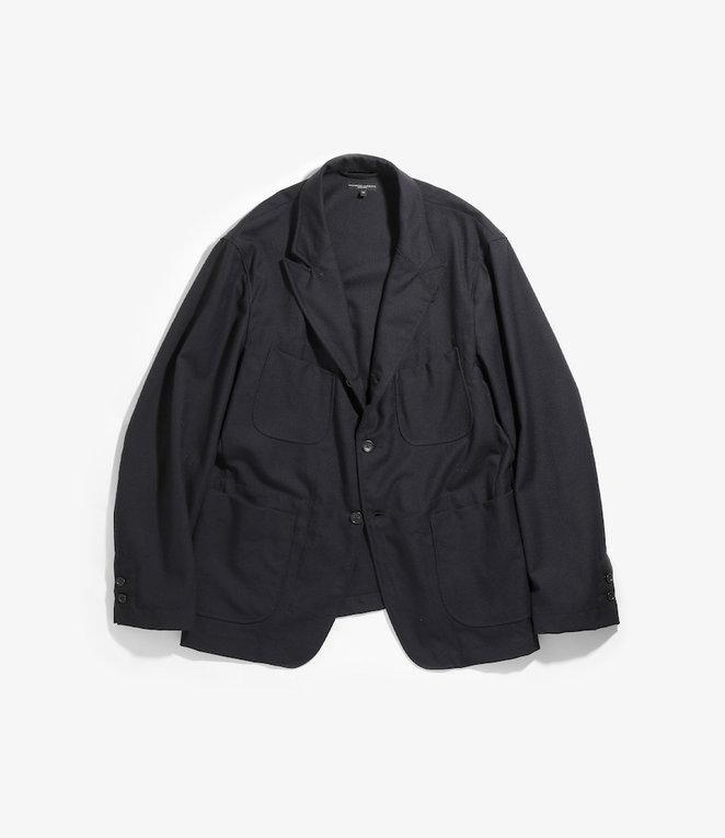 Engineered Garments NB Jacket - Dark Navy Wool Uniform Serge