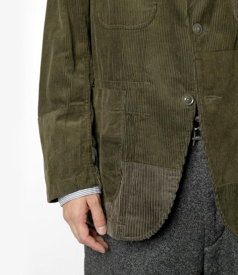 Engineered Garments Bedford Jacket - Olive Cotton 8W Corduroy