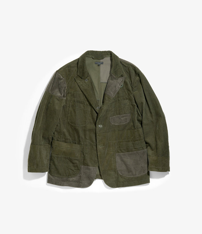 Engineered Garments Bedford Jacket - Olive Cotton 8W Corduroy