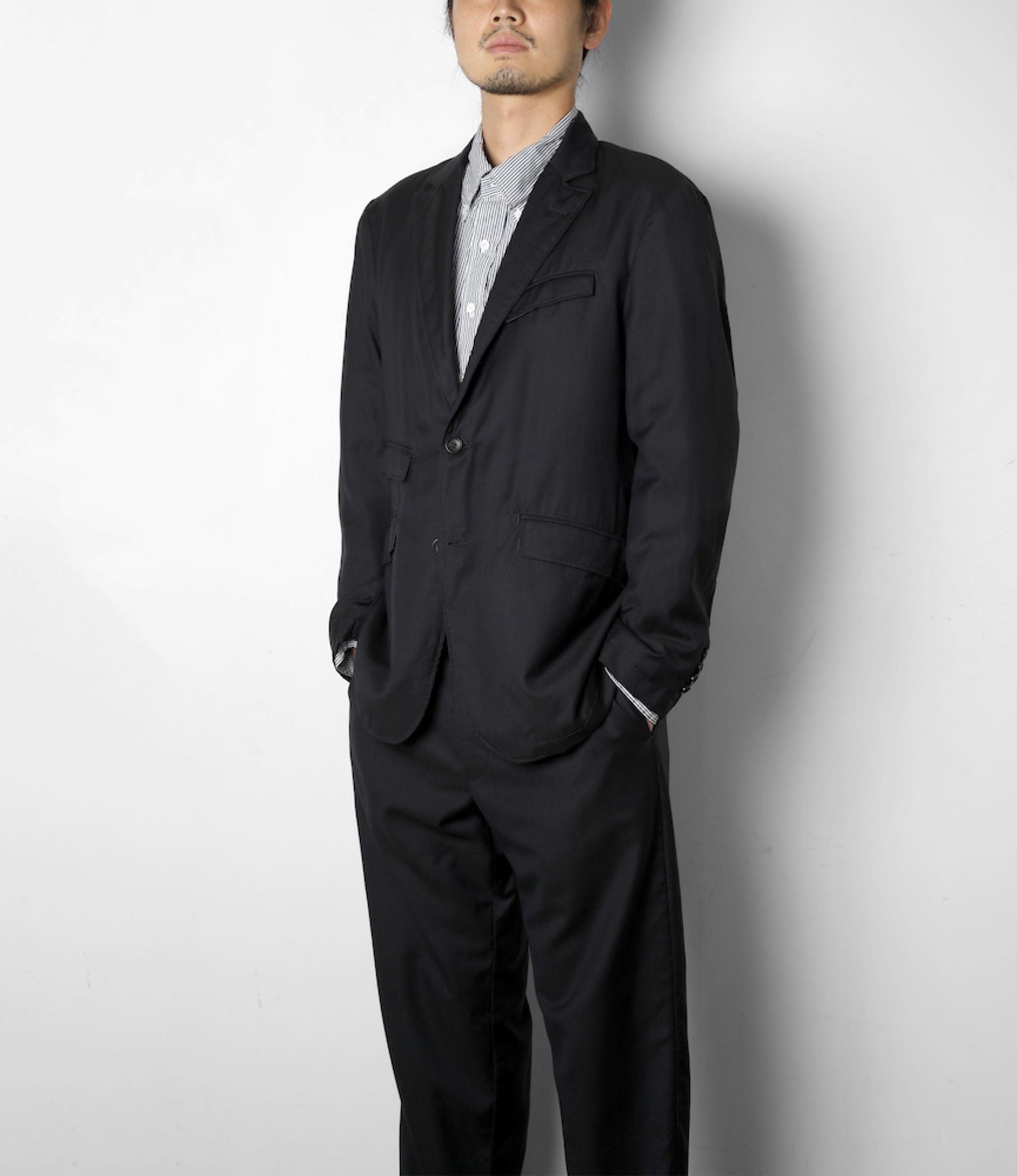 Engineered Garments Andover Jacket - Dark Navy Worsted Wool Gabardine