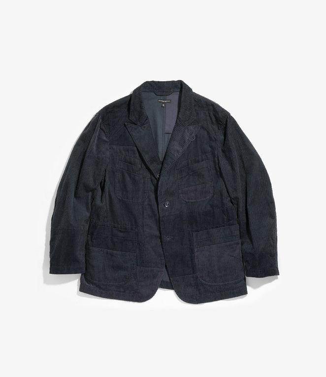 Engineered Garments Bedford Jacket - Navy Cotton 8W Corduroy