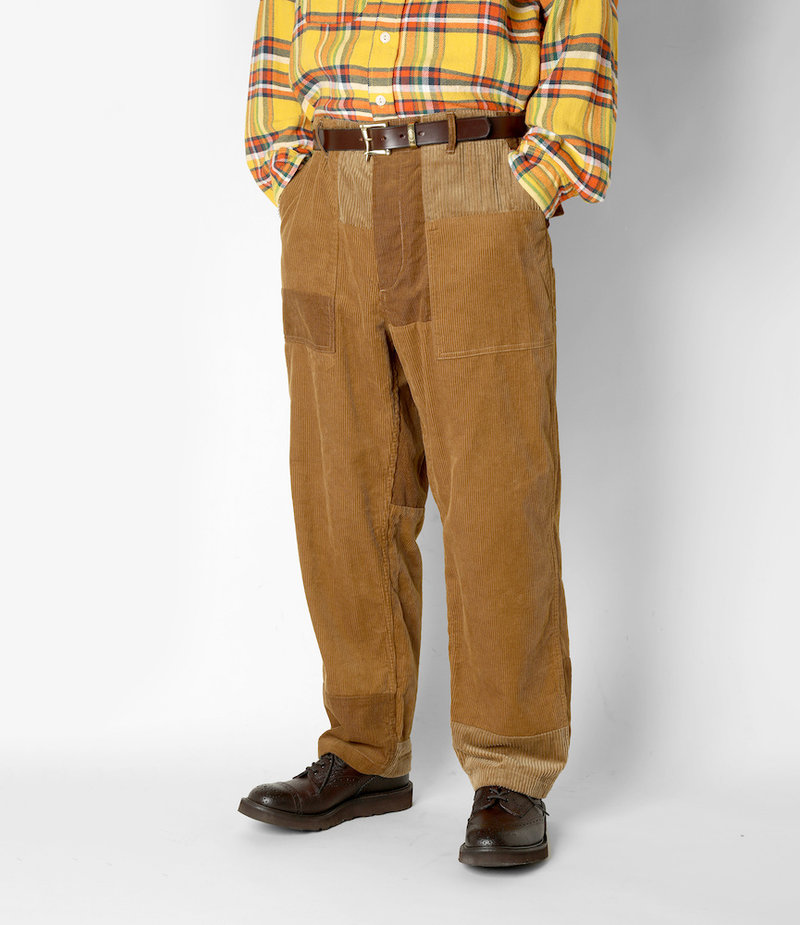 Engineered Garments Fatigue Pant - Chestnut Cotton 8W Corduroy
