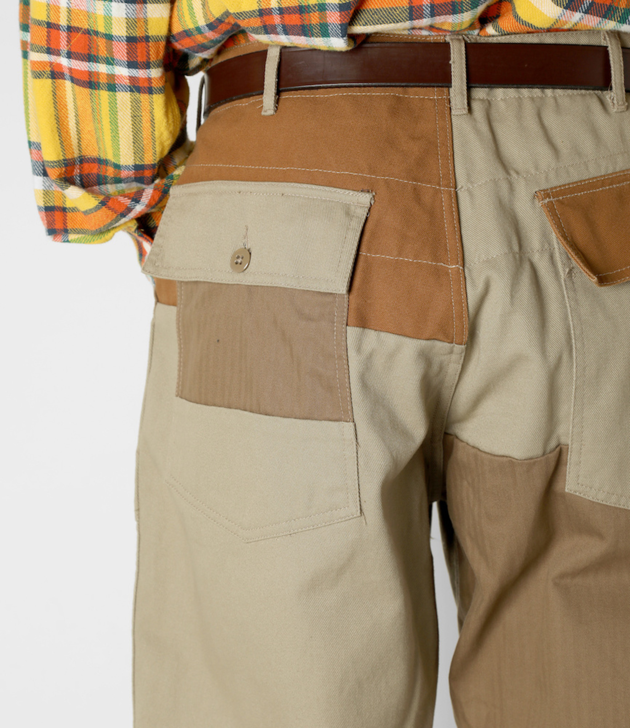 Engineered Garments Fatigue Pant - Khaki Cotton Heavy Twill