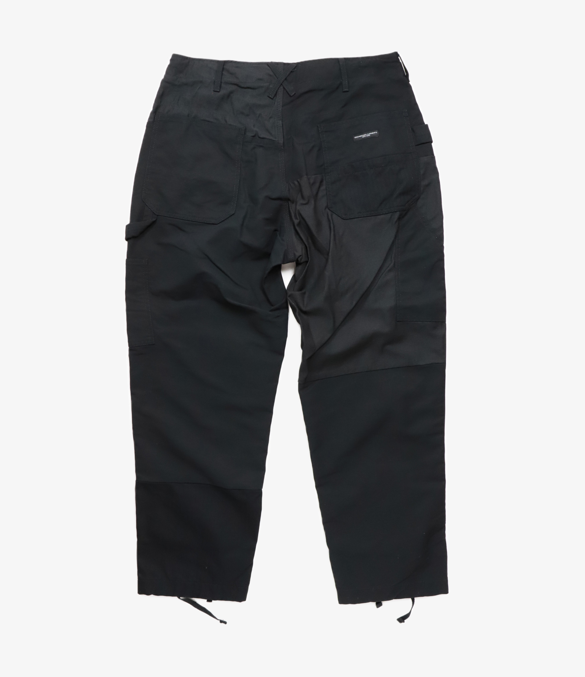 Engineered Garments Painter Pant - Black Cotton Double Cloth