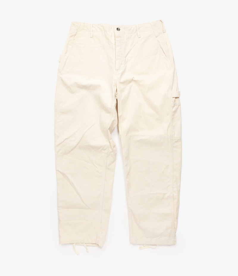 Engineered Garments Painter Pant - Natural 12oz Duck Canvas