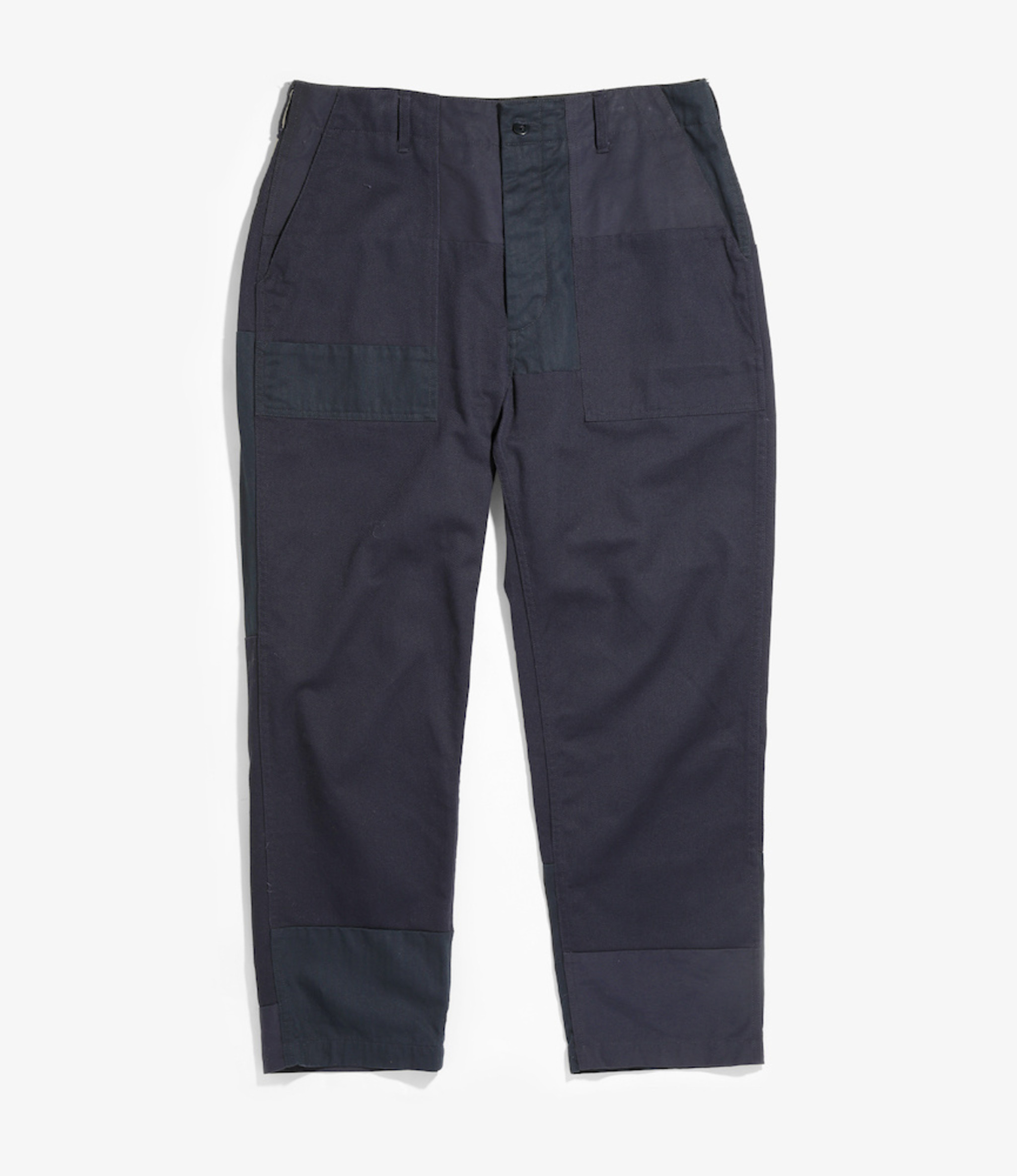 Engineered Garments Fatigue Pant - Dark Navy Cotton Heavy Twill