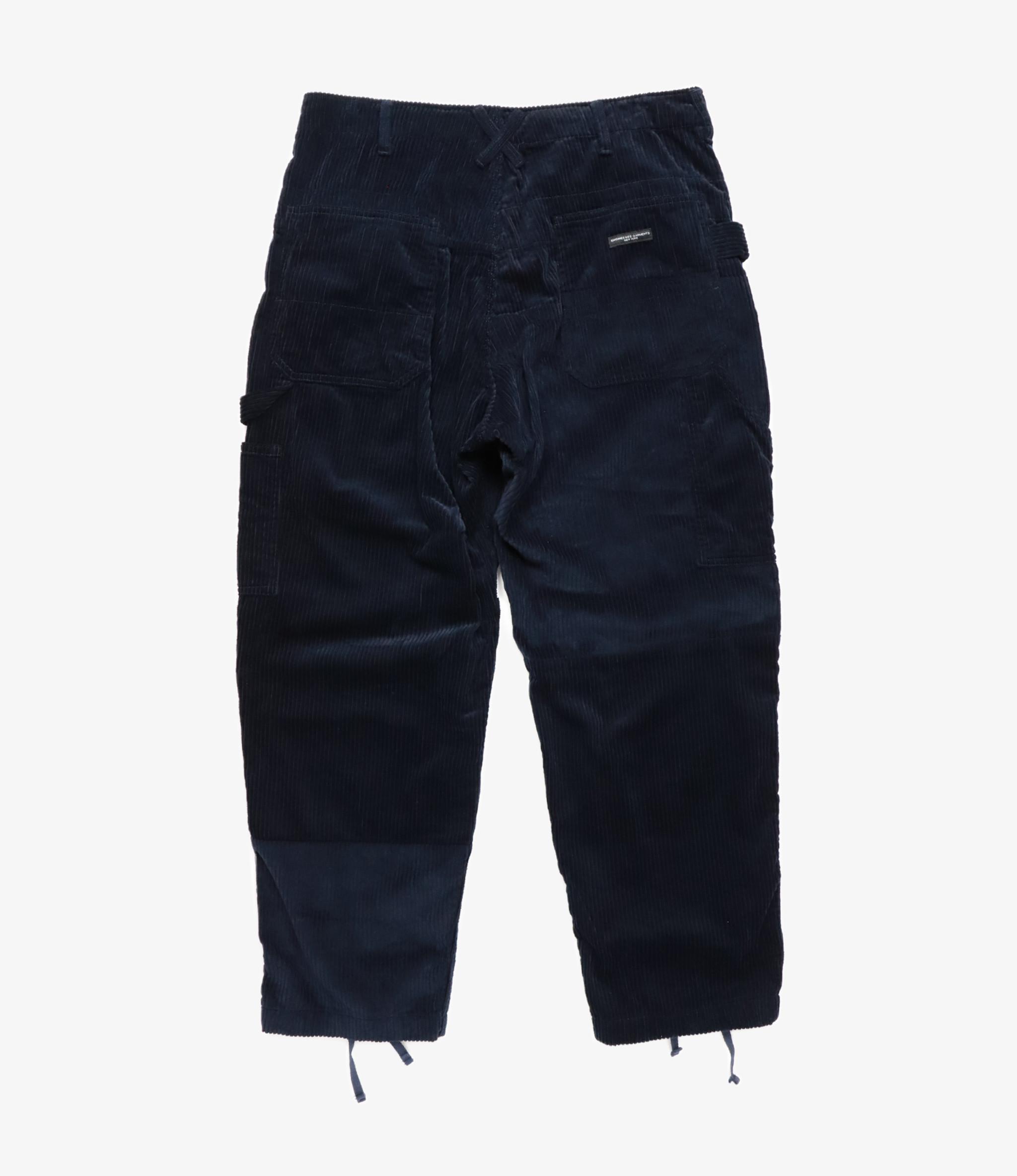 Engineered Garments Painter Pant - Navy Cotton 6W Corduroy