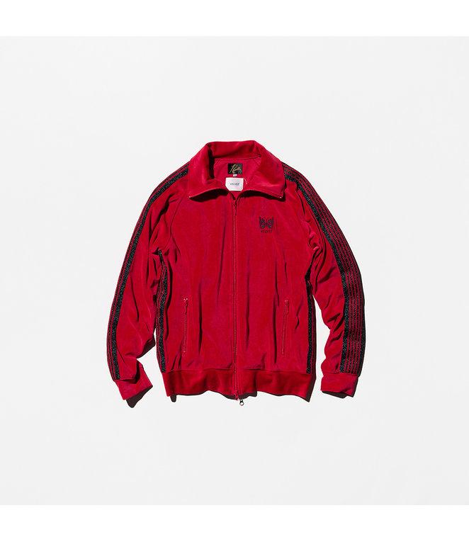 VELVET Pop-Up Store Needles x VELVET : Track Jacket -  Red