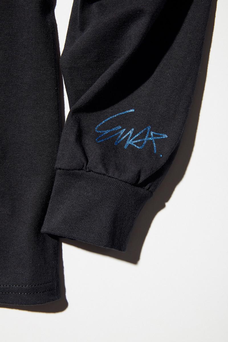 VELVET Pop-Up Store Nepenthes x VELVET : E-WAX T-Shirt - Black