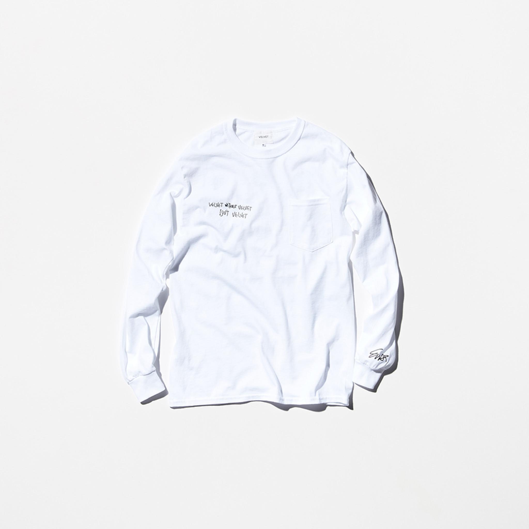Nepenthes x VELVET : E-WAX T-Shirt - White