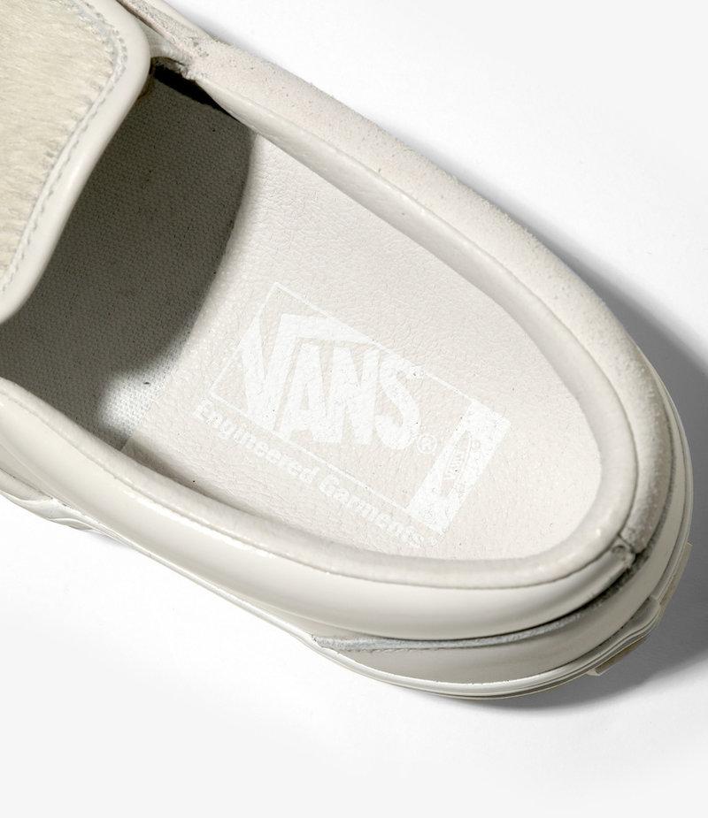 Engineered Garments Vans Vault  x Engineered Garments : Classic Slip-On VLT - White