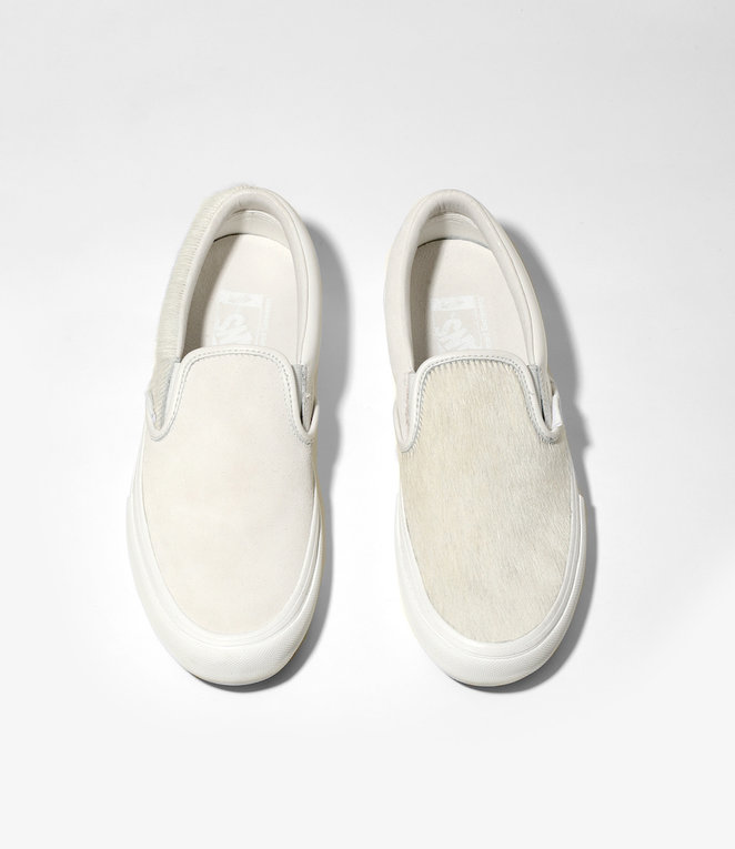 Engineered Garments Vans Vault  x Engineered Garments : Classic Slip-On VLT - White