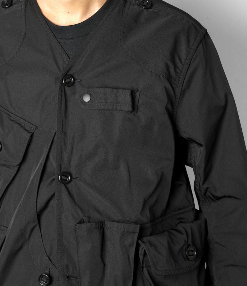 South2 West8 Tenkara Jacket Poly Gabardine - Black