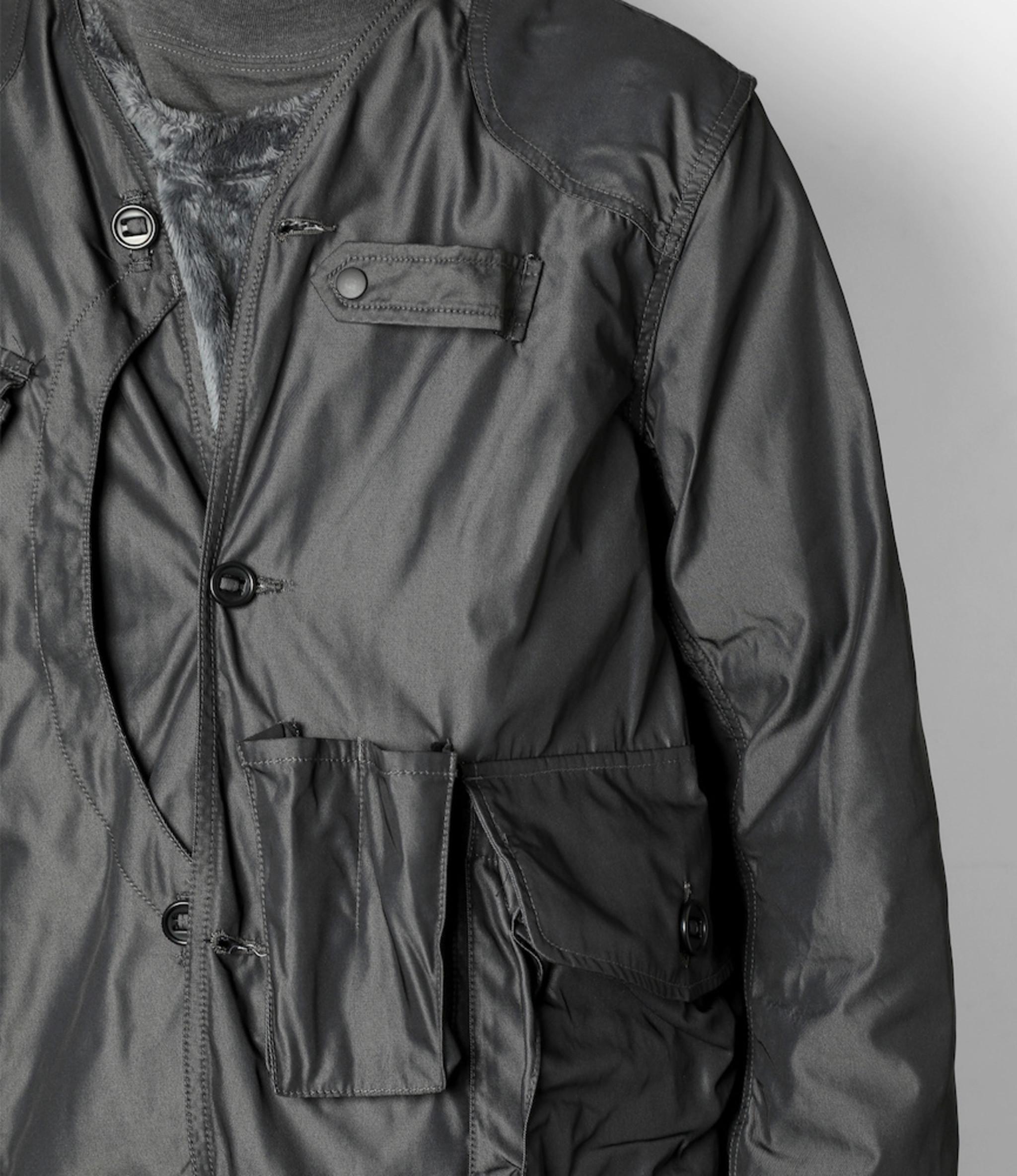 South2 West8 Tenkara Jacket Poly Gabardine - Charcoal