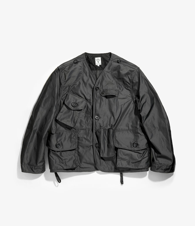 South2 West8 Tenkara Jacket Poly Gabardine - Charcoal