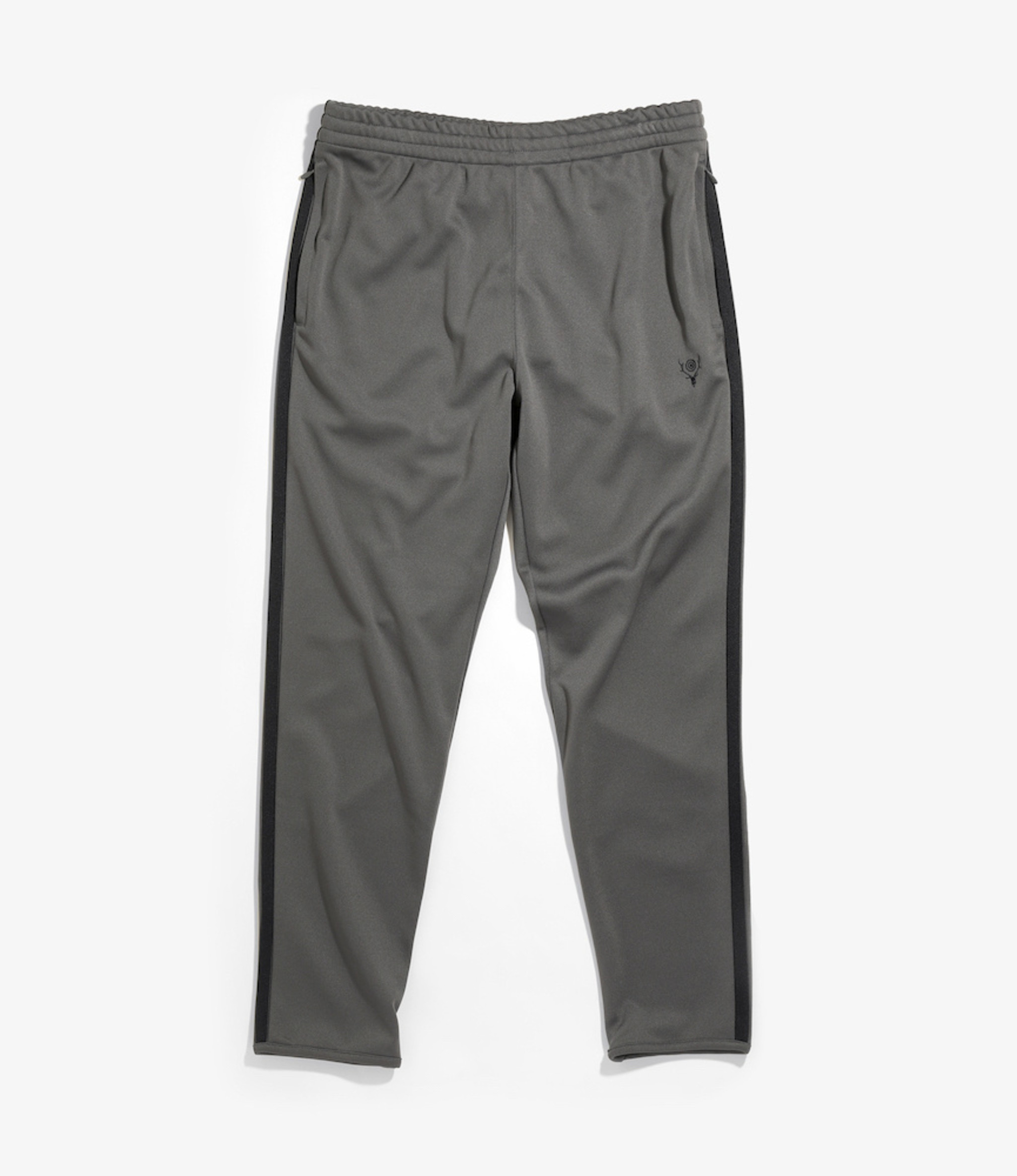 South2 West8 Trainer Pant Poly Smooth - Charcoal